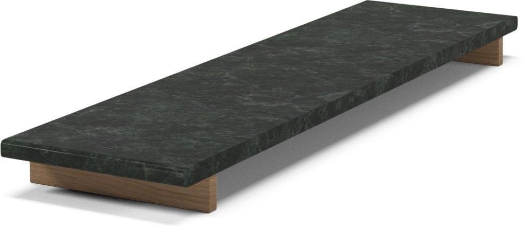 MEET Étkezőasztal 140 cm + MEET Gránitlappal bővítve - Bemutatótermi bútor-7050