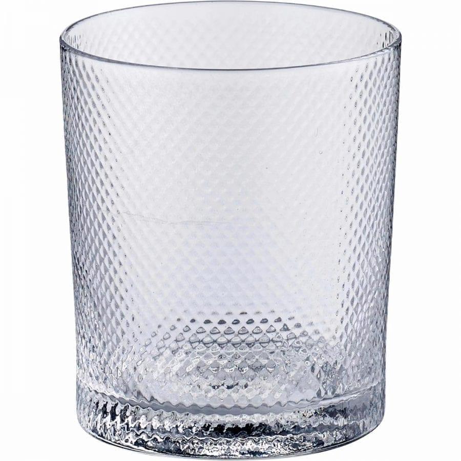 Noblesse Glass low - Transparent ruffled (6pcs)-0