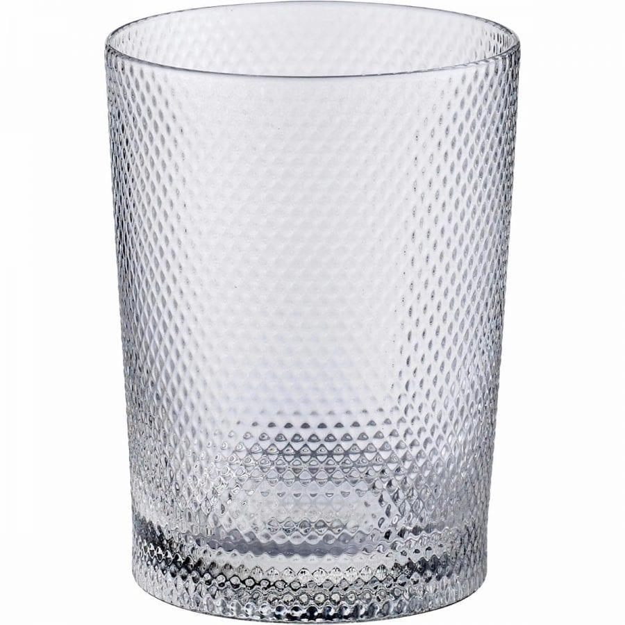 Noblesse Glass tall - Transparent, ruffled (6pcs)-0