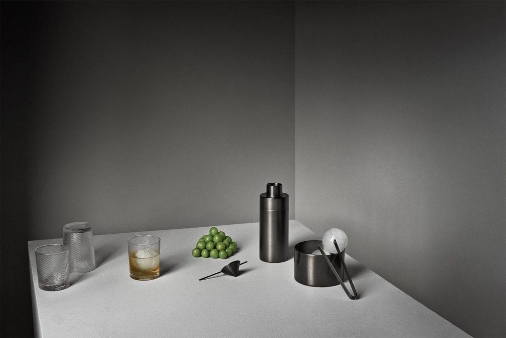Noblesse Glass tall - Transparent, ruffled (6pcs)-7950