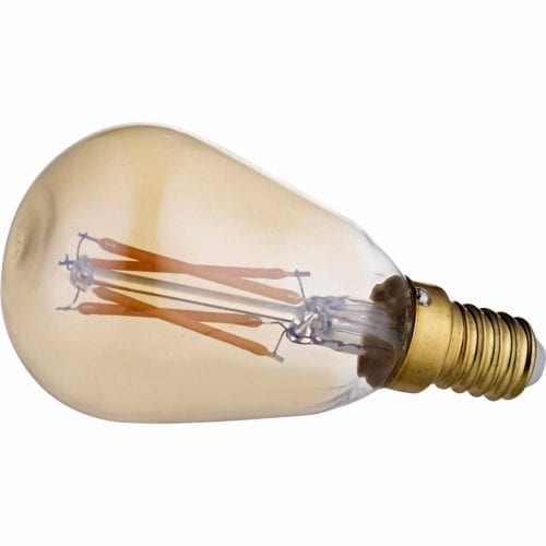 Orb Mini Gold LED bulb - dimmable-0