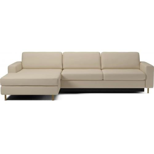 SCANDINAVIA Sofa bed with chaise longue -0