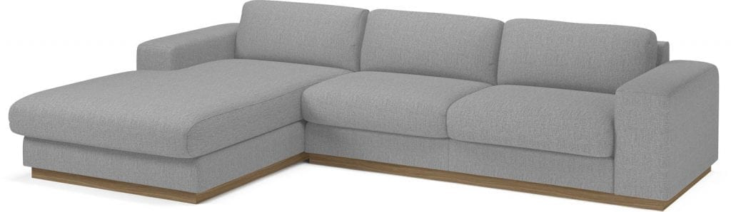 SEPIA 3 seater sofa bed with chaise longue-8013