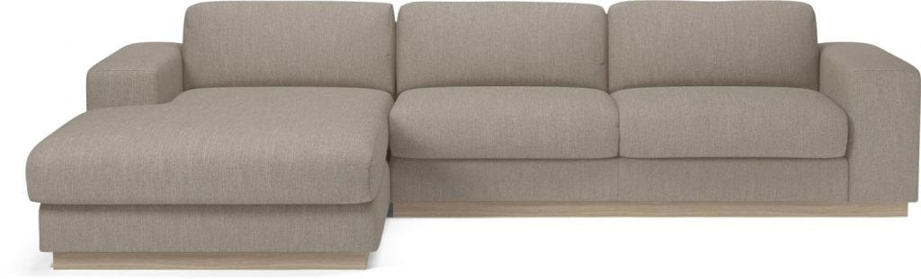 SEPIA 3 seater sofa bed with chaise longue-8014