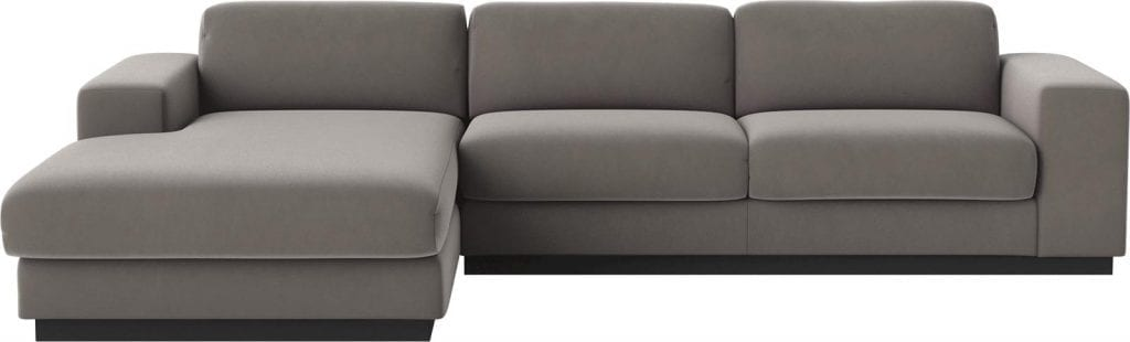 SEPIA 3 seater sofa bed with chaise longue-8016