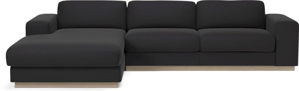 SEPIA 3 seater sofa bed with chaise longue-8015