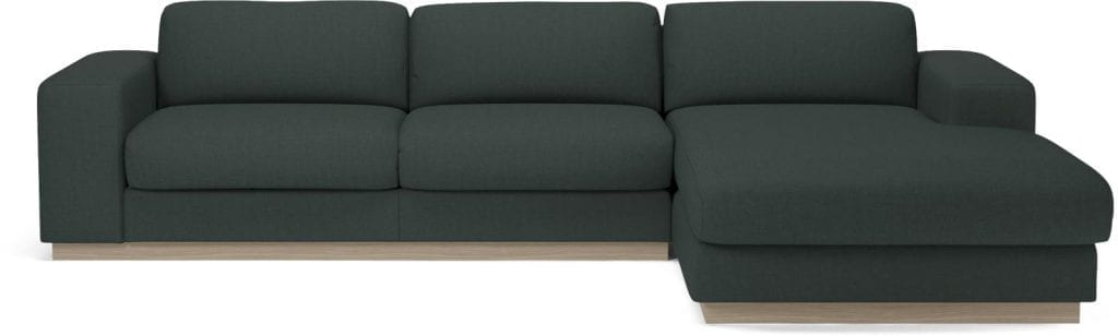 SEPIA 3 seater sofa bed with chaise longue-8017