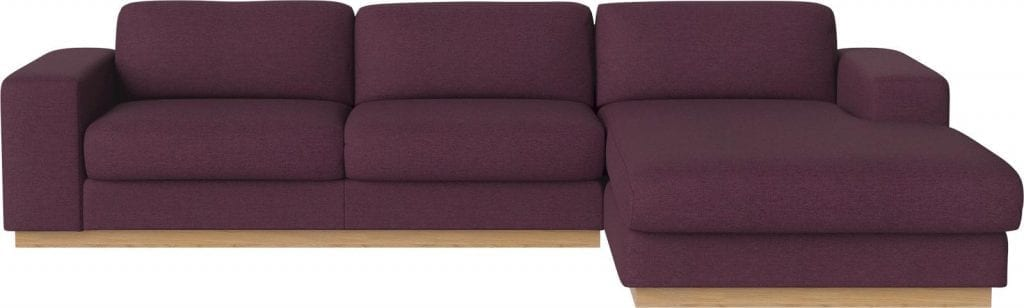 SEPIA 3 seater sofa bed with chaise longue-0