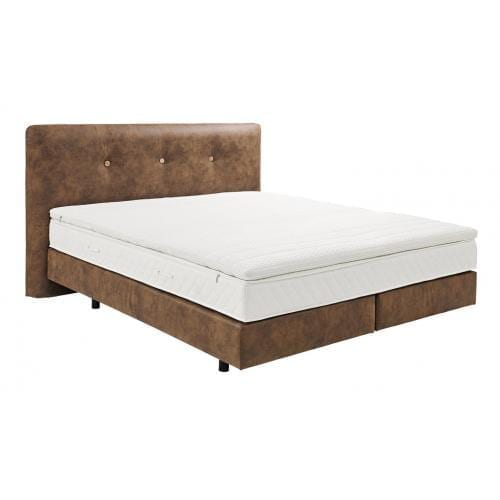 Hülsta BOXSPRING Bed A - Chestnut brown-0