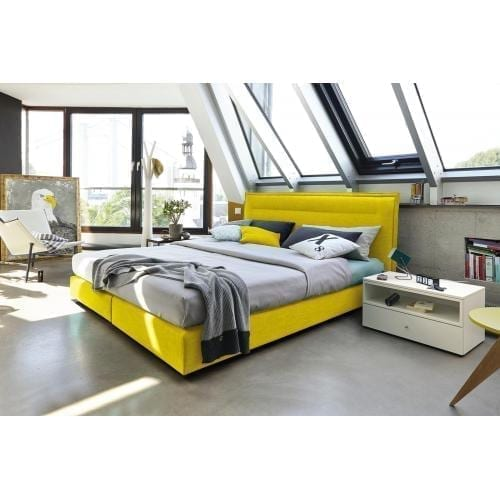Hülsta BOXSPRING Bed C - Maize yellow-0
