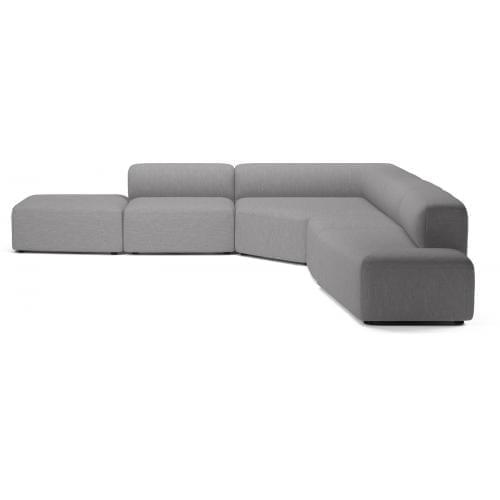 ANGLE 5 Elemes ülőgarnitúra lounger-8981