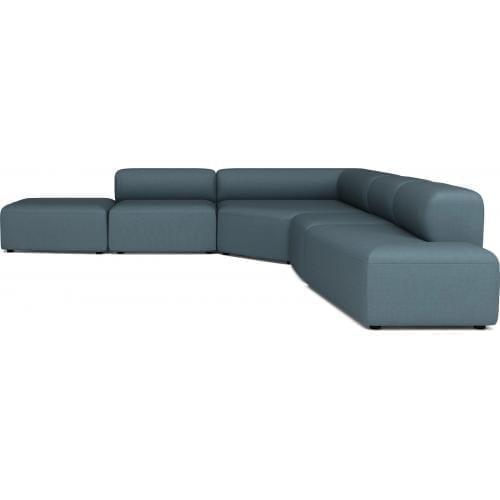 ANGLE 5 Elemes ülőgarnitúra lounger-0
