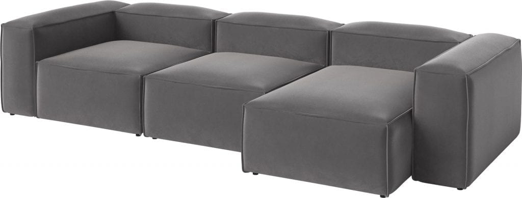 COSIMA 3 units with chaise longue-9046
