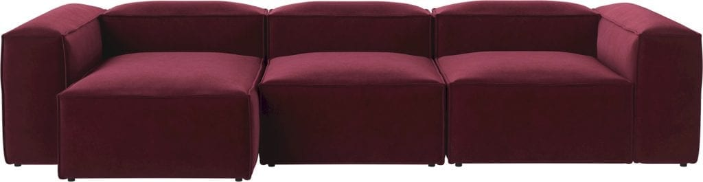 COSIMA 3 units with chaise longue-9050