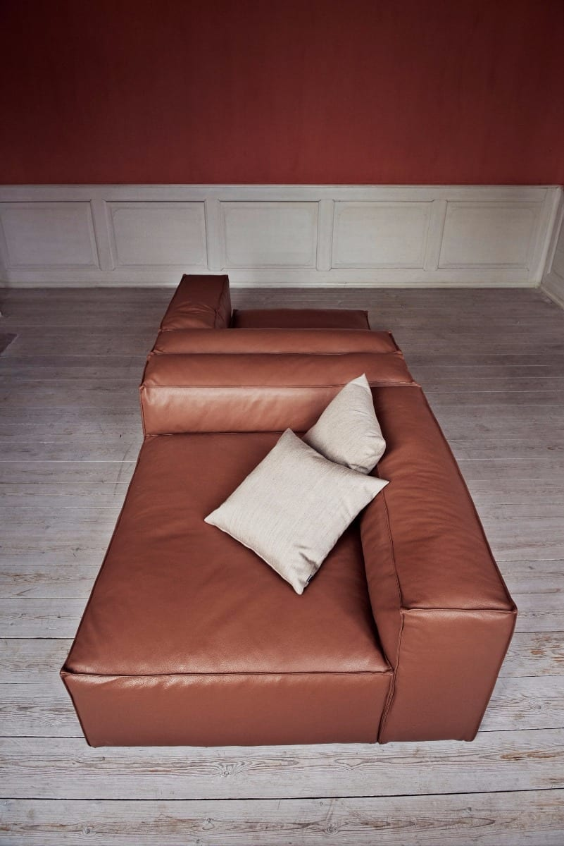 COSIMA 3 units with chaise longue-9036