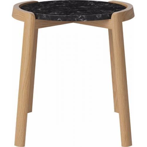 MIX dohányzóasztal - Kicsi - Fekete/Tölgy-0