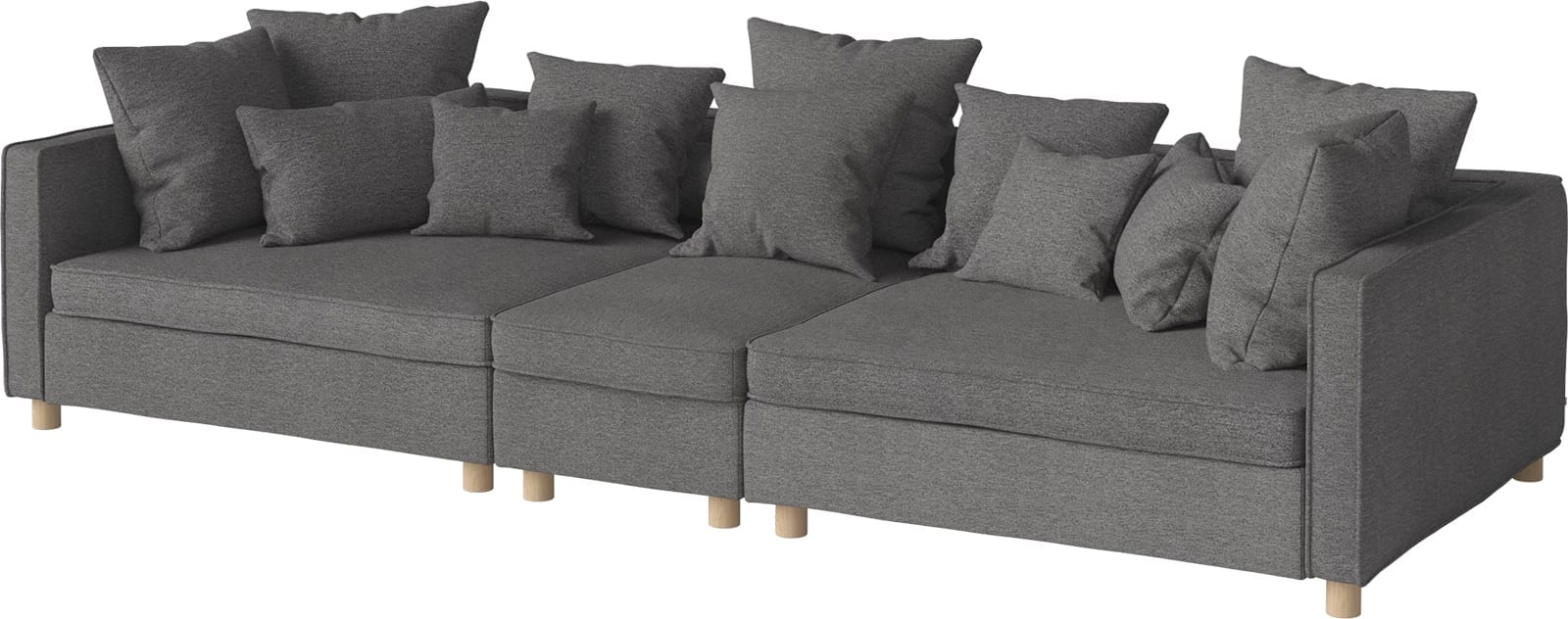 Mr 3 Units Sofa With Back Unit Small