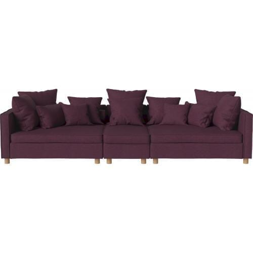 MR BIG 3 units sofa with back unit - small-0