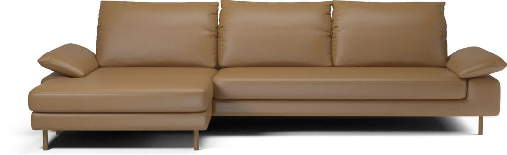 NEST 4 seater sofa with chaise longue-11053