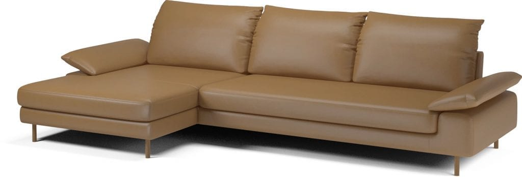 NEST 4 seater sofa with chaise longue-11054