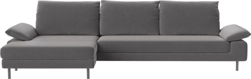 NEST 4 seater sofa with chaise longue-11055