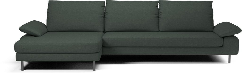 NEST 4 seater sofa with chaise longue-11057