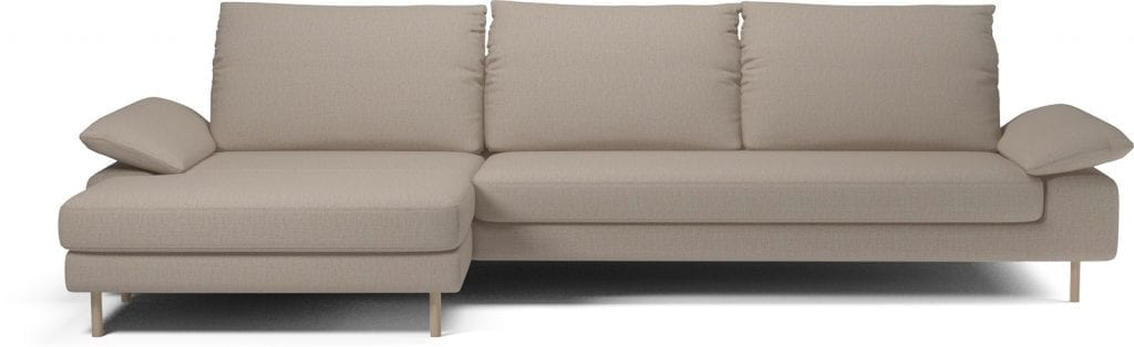 NEST 4 seater sofa with chaise longue-11056