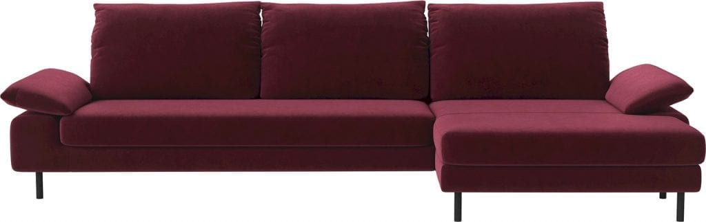 NEST 4 seater sofa with chaise longue-11060