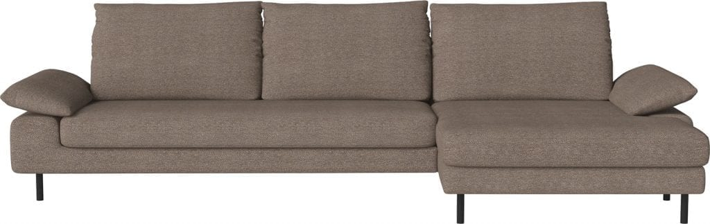 NEST 4 seater sofa with chaise longue-11061