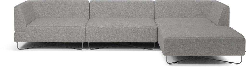 ORLANDO 4 units sofa with chaise longue-0