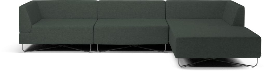 ORLANDO 4 units sofa with chaise longue-10078