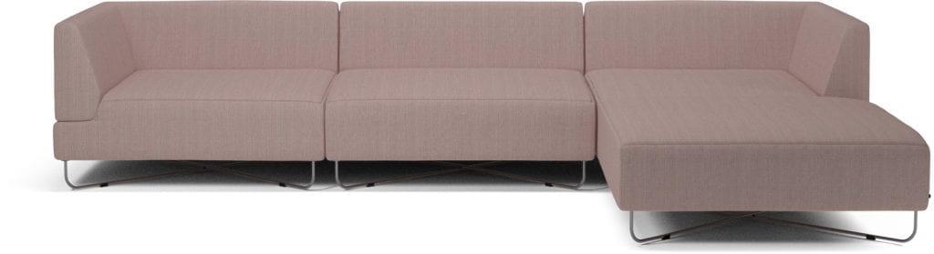 ORLANDO 4 units sofa with chaise longue-10077
