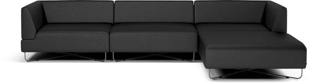 ORLANDO 4 units sofa with chaise longue-10079