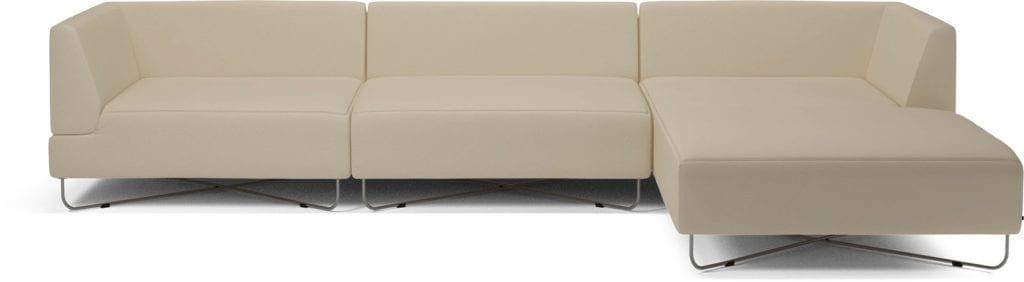 ORLANDO 4 units sofa with chaise longue-10080