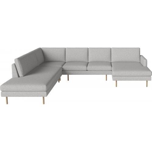 SCANDINAVIA REMIX 5 személyes sarok ülőgarnitúra lounger, nyitott véggel-8861