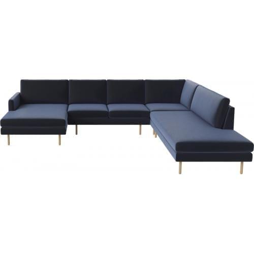 SCANDINAVIA REMIX 5 seater cornersofa with chaise longue and open end-0