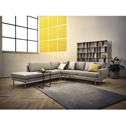 SCANDINAVIA REMIX 5 személyes sarok ülőgarnitúra lounger, nyitott véggel-8850