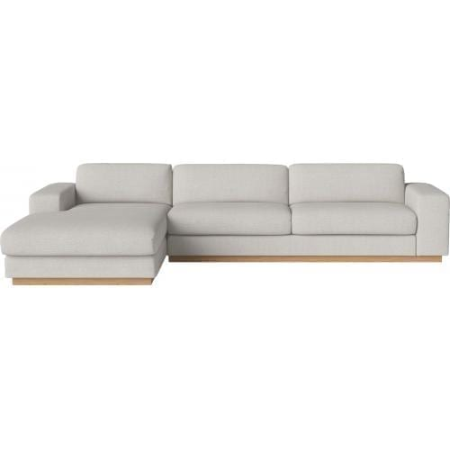 Sepia 4 seater sofa with chaise longue-0