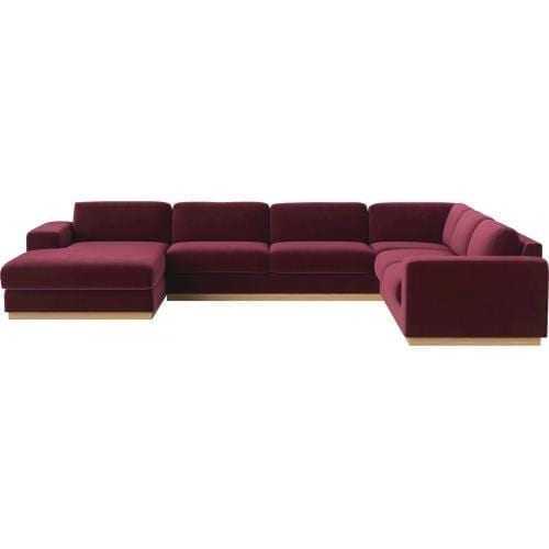 Sepia 7 seater cornersofa with chaise longue-0