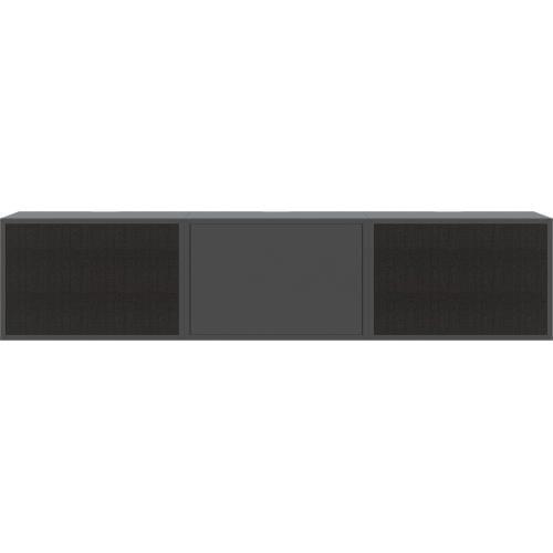 CASE kombináció 02 - Fekete - Lakkozott antracit szürke-0