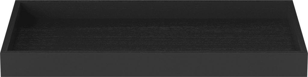 Cosima tray - Small- Black stained oak-0