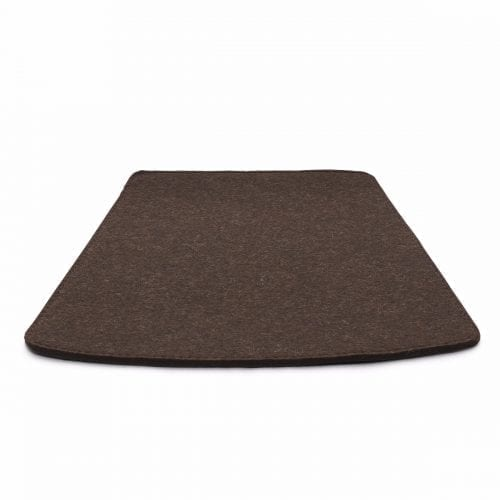 More/Jokva/Amara - Felt cushion - Brown -0