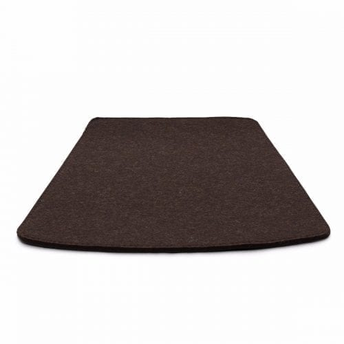 More/Jokva/Amara - Felt cushion - Dark brown melange-0