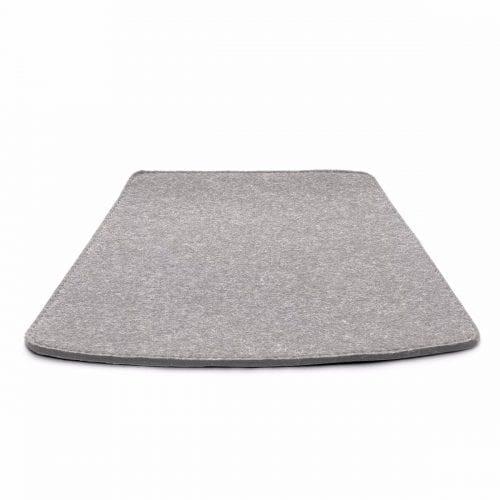 More/Jokva/Amara - Felt cushion - Light grey melange-0
