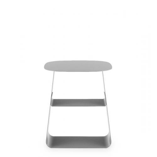 STAY Asztal – 40×40 – Szürke-16748