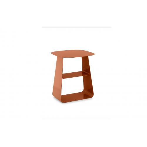 STAY Asztal - 40x40 - Rozsdabarna-0