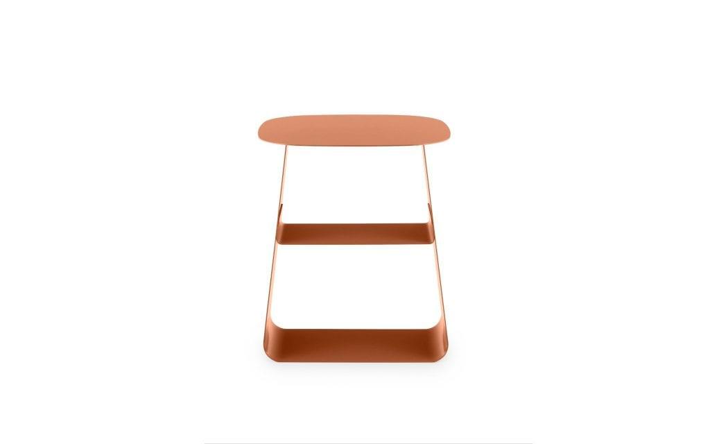 STAY Asztal - 40x40 - Rozsdabarna-16753