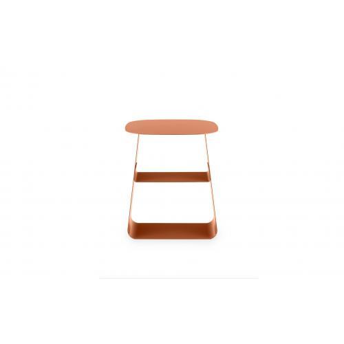 STAY Asztal – 40×40 – Rozsdabarna-16753