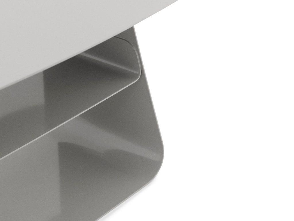 STAY Asztal - 40x52 - Kőszürke-16762