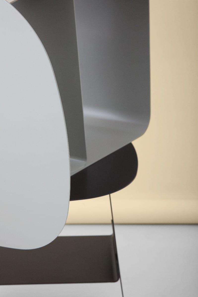 STAY Asztal - 40x52 - Kőszürke-16763